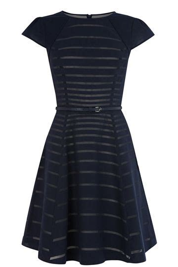 illusion  stripy dress    perfect