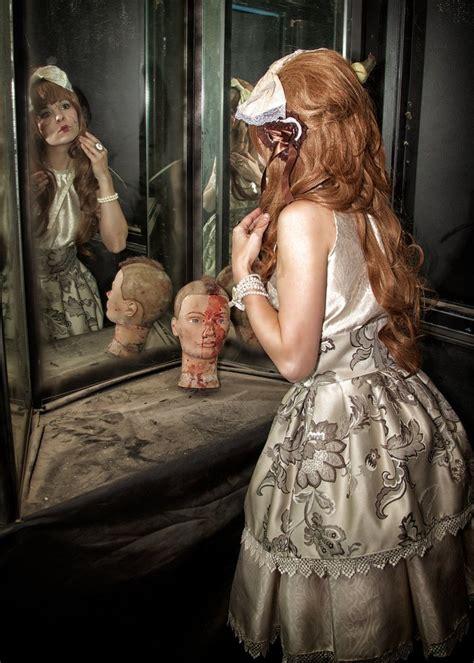 broken porcelain doll   haunted house  badkittygohome