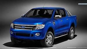 Blue Color Ford Ranger Wildtrak Wallpaper