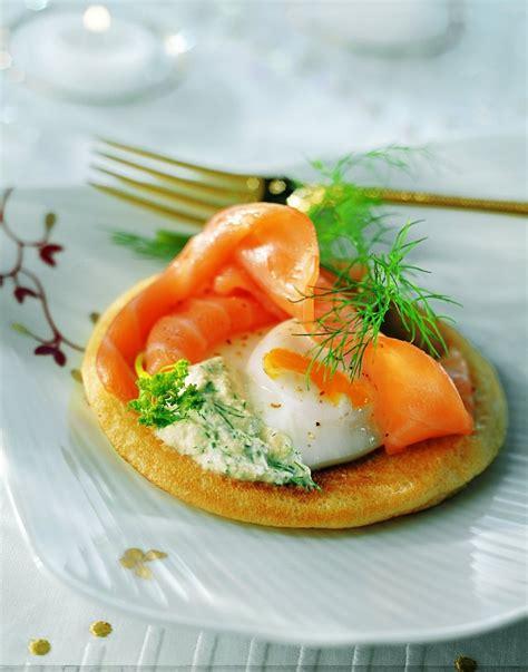 raifort cuisine recette blinis au saumon fumé crème au raifort