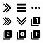 Navigation Icon Transparent Icons Arrow Button Packs
