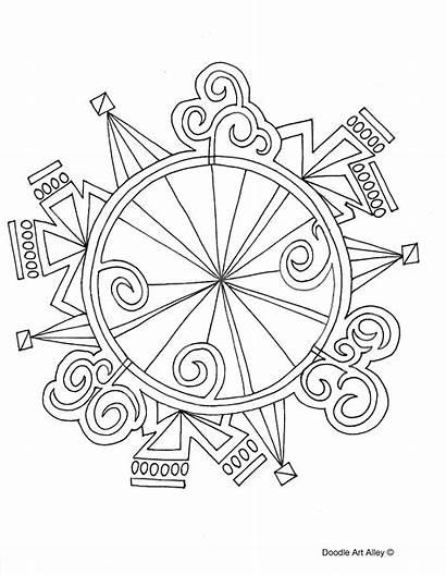 Coloring Pages Doodle Mandala Alley Mandalas Magical