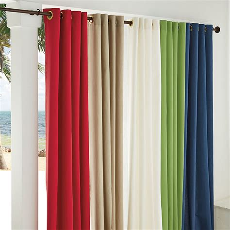 outdoor window panel curtains the company store