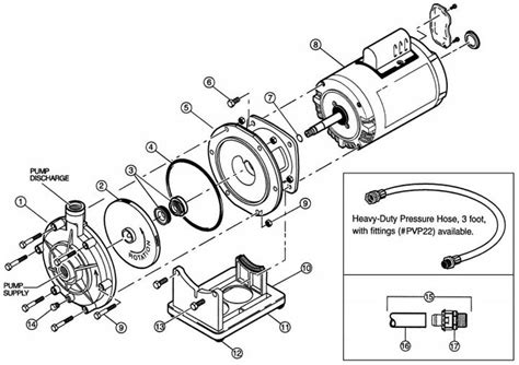 Polaris Booster Pump, Old Model Pump