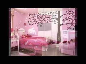 Bedrooms and Study Room for teen Girls - YouTube