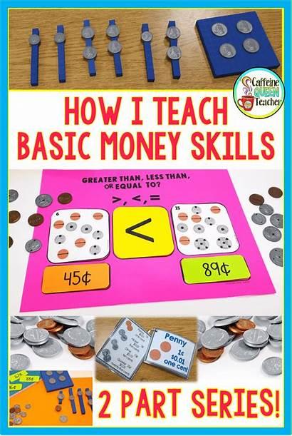 Money Teaching Skills Math Strategies Counting Coin