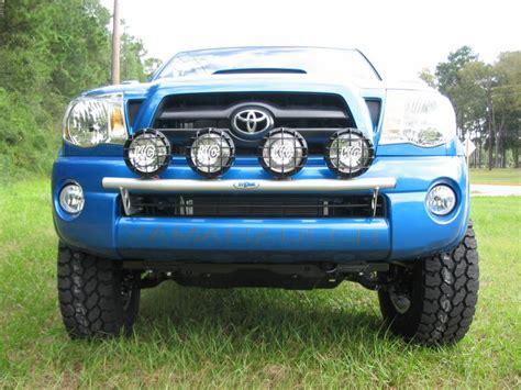 Toyota Tacoma Lights by N Fab T054lb Light Bar 2005 2011 Toyota Tacoma Gloss Black