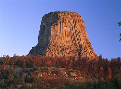 Devils Tower National Monument Showing By Tim Fitzharris