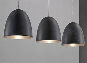 Luminaire 3 Suspensions : luminaire suspension gris 3 lampes design greno ~ Teatrodelosmanantiales.com Idées de Décoration