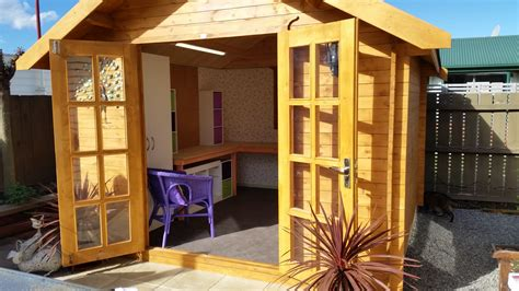 sheshedz craft shed wooden kitset garden shed