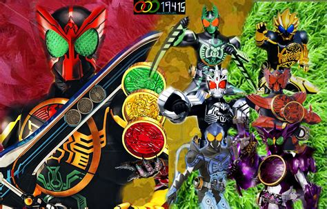 The Gallery For --> Kamen Rider Ooo All Medals