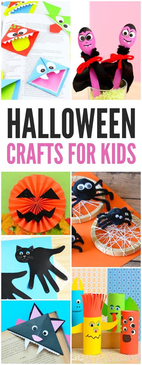 25+ Halloween Crafts For Kids  Art And Craft Tutorials