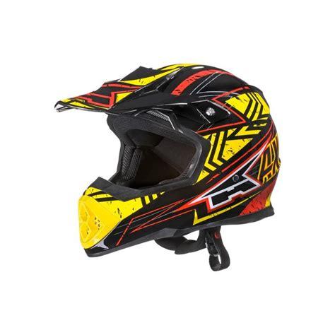 axo motocross gear axo tribe motocross off road helmet red yellow