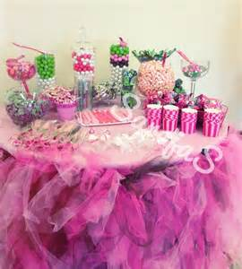 Baby Shower Candy Table Idea