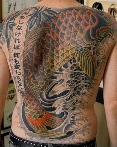 Tattoo Wallpapers Japanese Desktop Koi Designs Tattoos