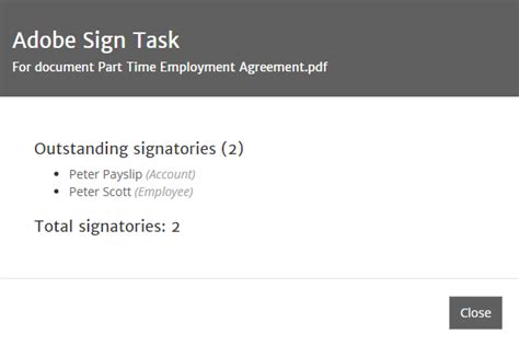 Setting Documents For Signing Using Adobe Sign