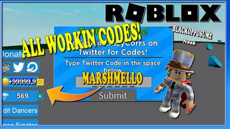 simulator codes giant dance youtuber working wiki
