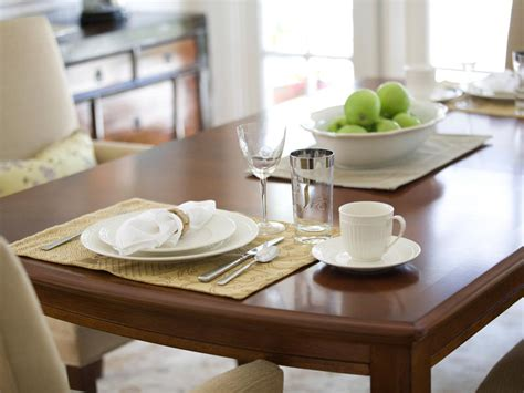 how to decorate your kitchen table how to refinish a dining room table hgtv