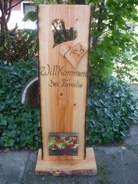 Holzbrett Deko Garten by Herzlich Willkommen Mit Diesem Schild Wird Jeder Gast