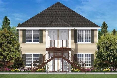 split plan house multi unit house plans home design 2176