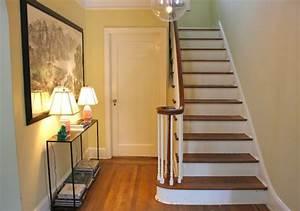 peinture montee escalier dootdadoocom idees de With porte d entrée alu avec aide financiere pour renovation salle de bain
