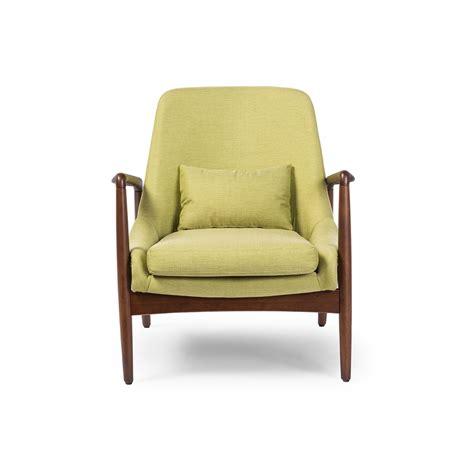 baxton studio mid century modern retro green fabric