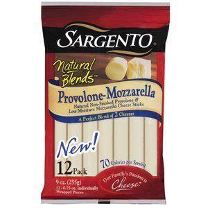 sargento natural blends provolone mozzarella cheese sticks