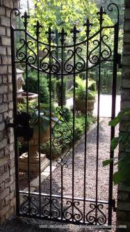 raleigh wrought iron and fence co custom wrought iron gates in raleigh nc durham chapel hill