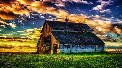 Barn Wallpapers Abandoned Field