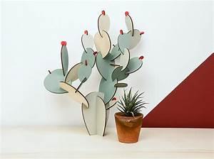 Objet Deco Maison : l 39 objet d co du jour le cactus papier tigre elle d coration ~ Teatrodelosmanantiales.com Idées de Décoration