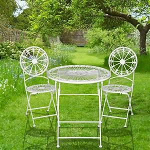 Chaise En Fer Forgé : chaise pliante en fer forg collection fleurs de lys ~ Dode.kayakingforconservation.com Idées de Décoration
