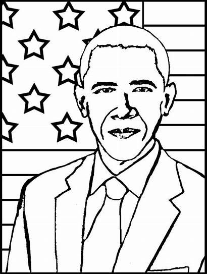 History Coloring Month Pages President