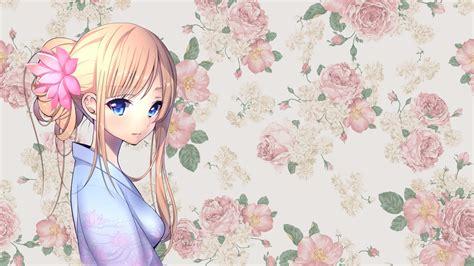 Anime Girls Anime Traditional Clothing Wallpapers Hd