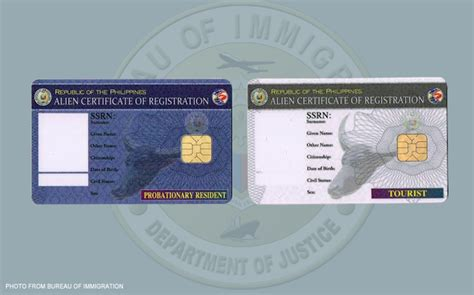 bureau immigration immigration to issue color coded registration