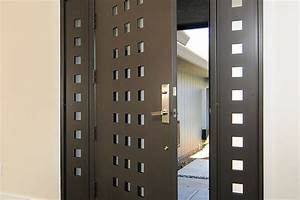 Porte De Service Acier : prix d une porte d entr e en acier budget ~ Dailycaller-alerts.com Idées de Décoration
