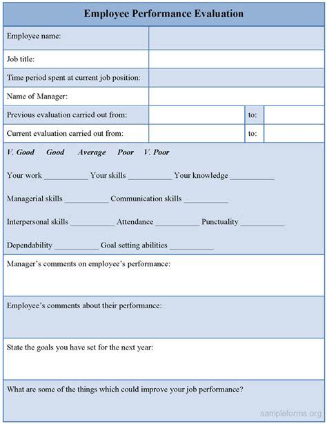 Employee Resume Format by Sle Of Appraisal Form For Employee Resume Format Ms