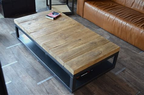 Table Basse Bois Brut Table Basse Bois Brut Table Basse Design Bois Sortir En Allier