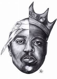 2pac And Biggie Drawing | www.imgkid.com - The Image Kid ...