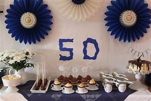 Deko 50 Geburtstag Selber Machen : sweet table schokoladiges in blau wei cuplovecake ~ Frokenaadalensverden.com Haus und Dekorationen