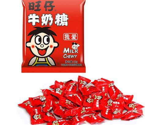 混批旺仔15g牛奶糖儿童糖果休闲零食年货食品 超市采购 批发-阿里巴巴