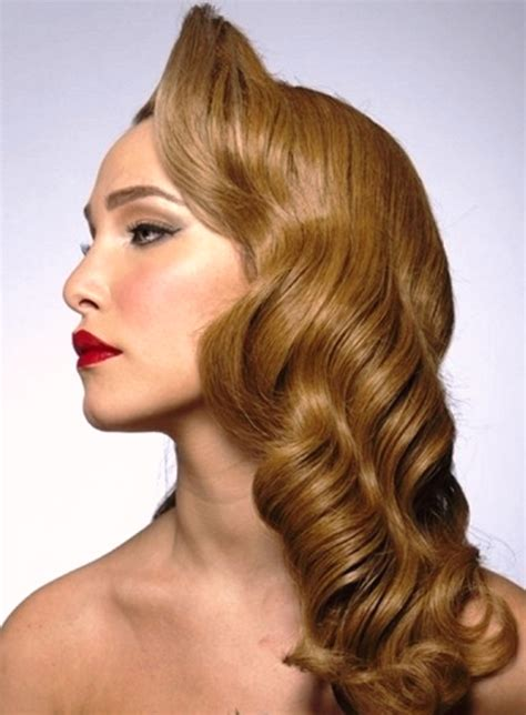 retro hairstyles  long hair elle hairstyles