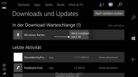 windows 10 mobile store updates mit der anzeige der downloadr 246 223 e deskmodder de
