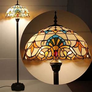 Classic floyd 16inch tiffany floor lamp for Floyd tiffany floor lamp