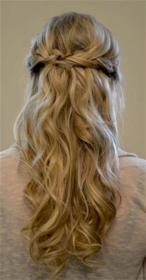 Prom Hairstyles Half Updos by Half Updo Prom Hairstyles 2015 For Hair