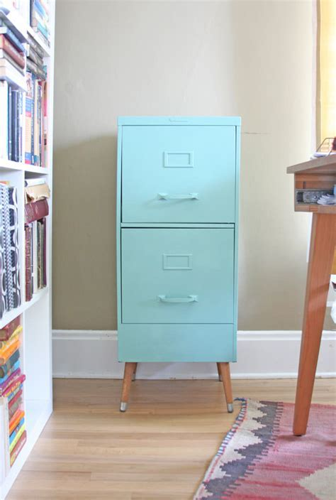12 Fabulous Filing Cabinet Makeovers ? The Budget Decorator