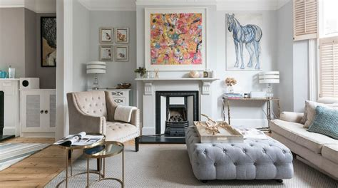 Real London Luxury Living Rooms  Homegirl London