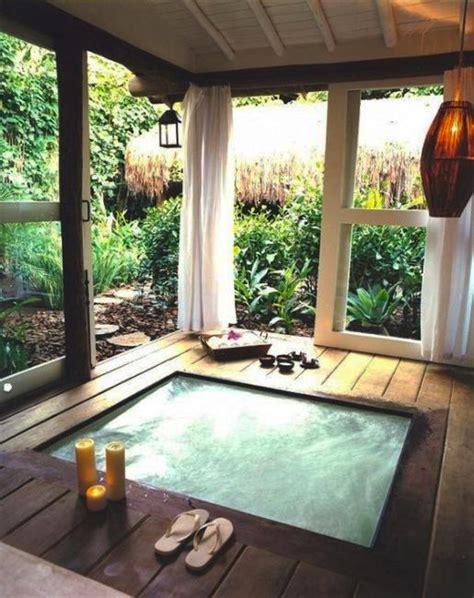 beautiful outdoor bathroom design charming  soothing