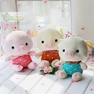 Cute Soft Stuffed Animal Plush Strawberry Pig Dolls for ...