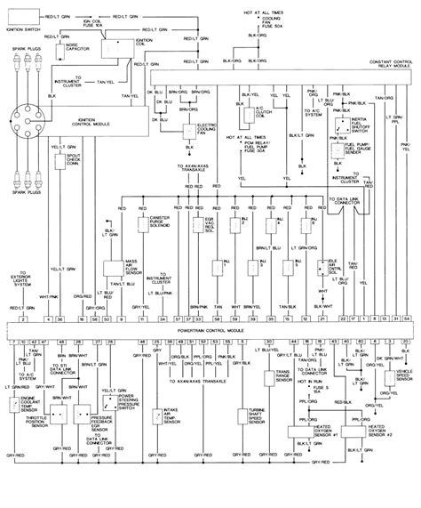 Need Wiring Diagram For Taurus Ignition Switch