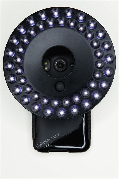 cell phone ring light worlds ring light for iphone phones compact cameras